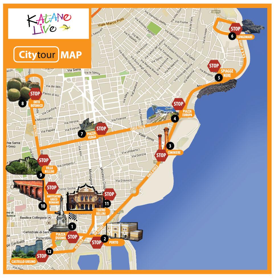 Mappa City Tour